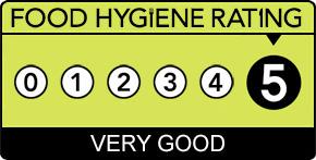 5 star food rating